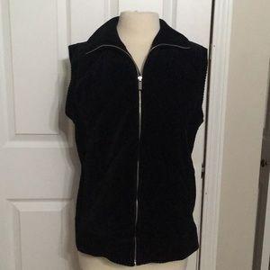 Sleeveless Sweater Jacket Sz XL